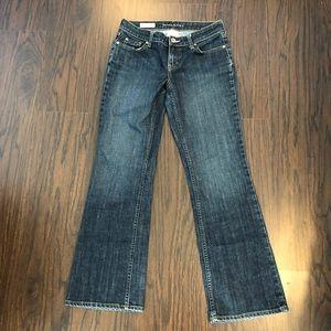 Banana republic boot cut jeans stretch size 4